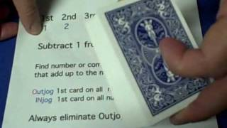 Enigma - Mathematical Card Trick Revealed
