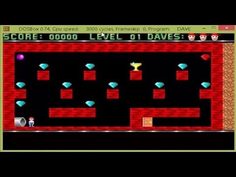 How To Install And Play Dangerous Dave On Windows 7 8 Or 10