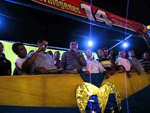 Discursso do Vice prefeito Osvaldo Amorim sobre a saude de Jenipapo Dos Vieiras