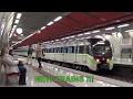 NEW Siemens - Rotem EMU trains on Athens Metropolitan Railway, lines 2 and 3