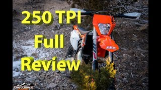7. 2018 KTM 250 XC-W TPI FULL Review | KTMs First Major Production EFI 2 Stroke Model in USA