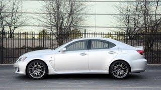 2013 Lexus IS-F - WINDING ROAD POV Test Drive