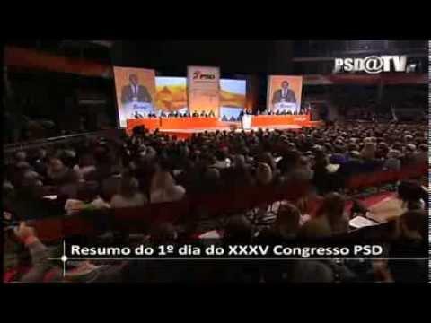 XXXV Congresso PSD: Resumo do primeiro dia de trabalhos