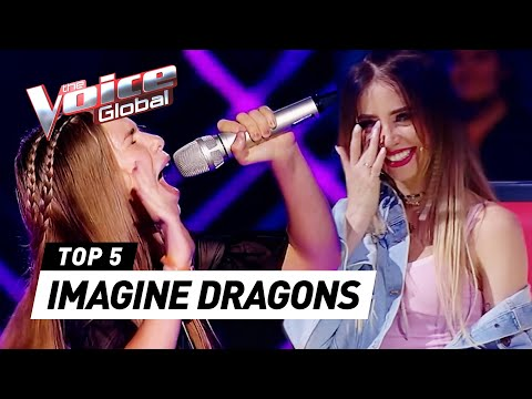 IMAGINE DRAGONS In The Voice Kids | The Voice Global Mp3