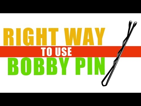 Right-Way-to-Use-Bobby-Pin-Hack-of-The-Day-Puthuyugam-TV