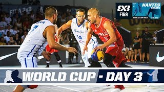 Check out all the action from the FIBA 3x3 World Cup 2017 from Nantes, France! Schedule (GMT +2): Women: 14:00 - Spain (10) vs France (2) 14:20 ...
