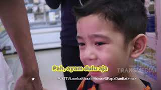Video JANJI SUCI - Rafathar Dan Papa Raffi Lomba Masak Lawan Mama Gigi (24/3/19) Part 1 MP3, 3GP, MP4, WEBM, AVI, FLV April 2019