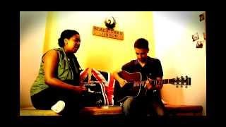Menna Mulugeta + John Scott, Unplugged In Black Swan ! Acoustic Cover Of Halleluja By Jeff Buckley !