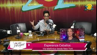 Esperanza Ceballos Periodista dominicana de Univison comenta sobre atentado en New York