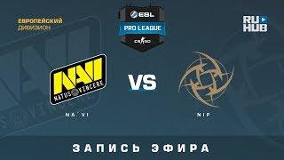 Na`Vi vs NiP - ESL Pro League S7 EU - de_overpass [yXo, Enkanis]
