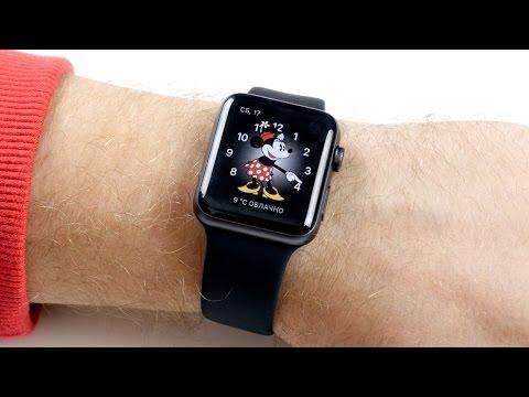 Apple Watch S2: распаковка и сравнение с Apple Watch 1