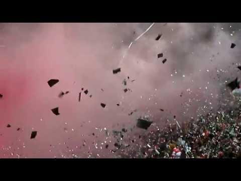 SANTA FE Vs gremio SALIDA :: OCTAVOS DE FINAL COPA LIBERTADORES 2013 - La Guardia Albi Roja Sur - Independiente Santa Fe