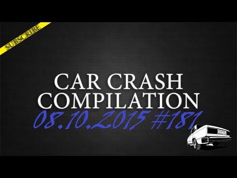 Car crash compilation #181 | Подборка аварий 08.10.2015