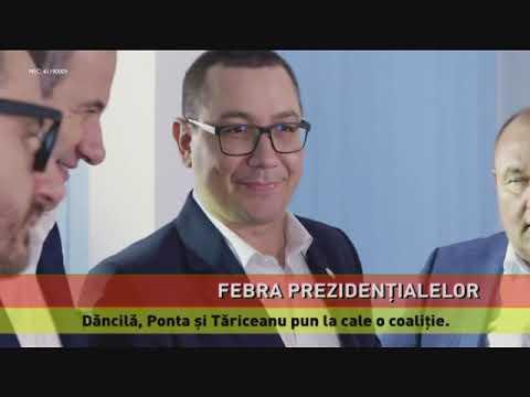 Dăncilă, Ponta și Tăriceanu pun la cale o coaliție, pentru prezidențiale