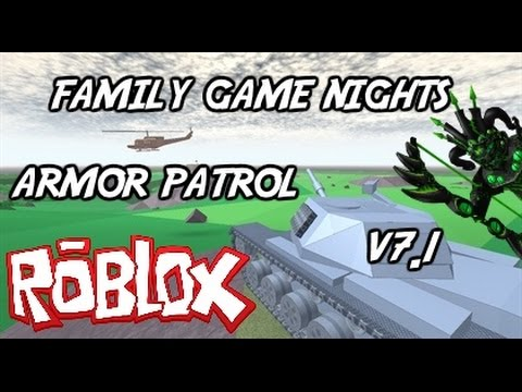 Family Game Nights Plays: Roblox - Armor Patrol V7.1 (PC)