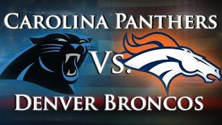 Carolina Panthers vs. Denver Broncos - Season Opener by Joseph Vincent