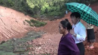 Zaj Tawm Khiav/Toj Pob/land slide