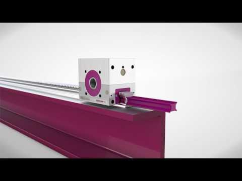 Zahnstangen Montage / Gear rack mounting