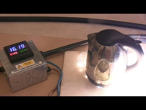 second - Photonicinduction and Polar again take control of the power supply but this time test an Electric Kettle to it's limits and beyond, the speed and power is surprising.