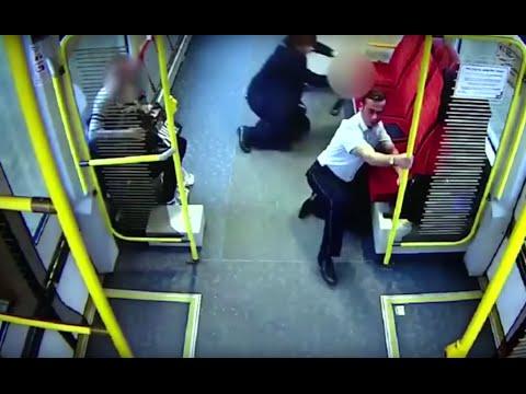 Polish train conductor warns passengers seconds before crash