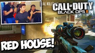RED HOUSE TRICKSHOT FACEOFF TOURNAMENT! - ft. Nicks, Formula, Gandhi (BO2 Trickshotting)