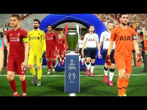 Liverpool vs Tottenham - UEFA Champions League Final 2019 Gameplay