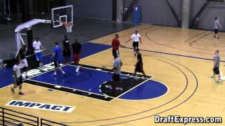 2013 NBA Pre-Draft Workouts at Impact Basketball in Las Vegas - Siva, Wyatt, Mbakwe and more