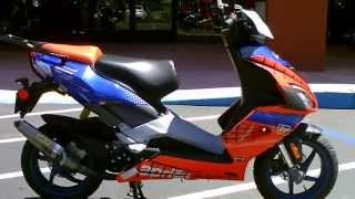 7. Contra Costa Powersports-Used 2006 Aprilia SR50 Factory Scooter Spiderman 2!!