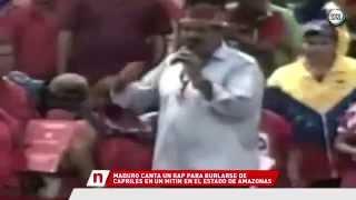 El rap de Nicolás Maduro, burlándose de Capriles