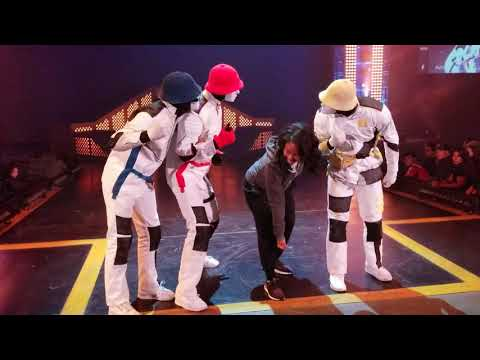 I DANCED WITH THE JABBAWOCKEEZ...AGAIN! #Jabbawockeez 😱
