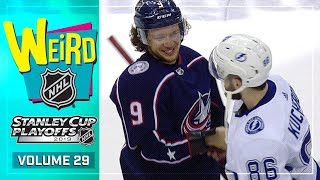 Weird NHL Vol. 29: What just happened? by NHL
