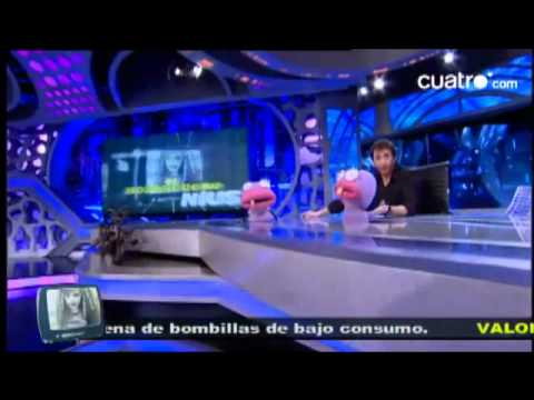 spanish tv - Adam Sandler and Jennifer Aniston went to a Spanish TV show called 'El Hormiguero'. I've translated what the presenter and the ants say, not Jennifer and Ada...