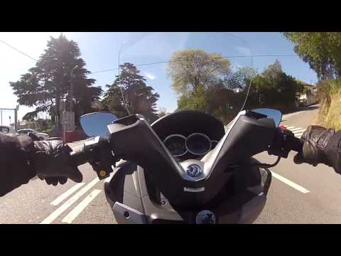 Teste Drive Sym GTS 125 - 2013