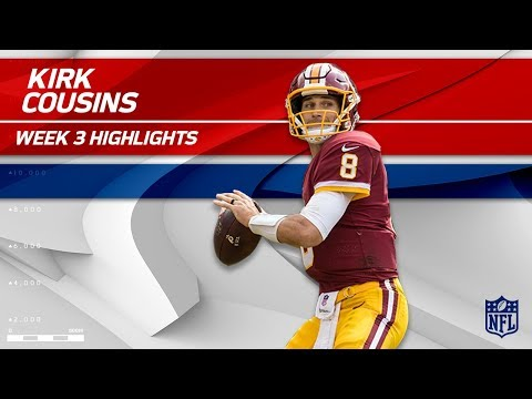 Video: Kirk Cousins Tears Through Oakland's Defense! | Raiders vs. Redskins | Wk 3 Player Highlights