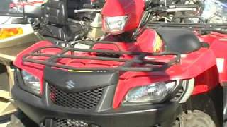 8. 2005 SUZUKI LTA 700 4X4 KING QUAD