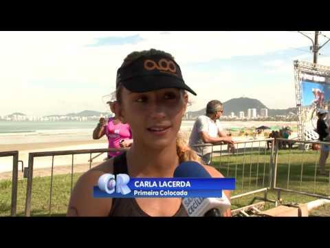 2ª etapa do 10º Circuito de Sprint Triathlon Santa Cecília TV é realizado em Guarujá