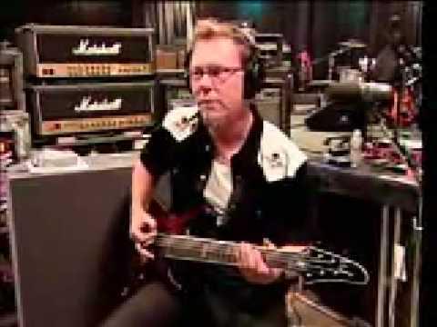 Metallica - Kirk Hammett Tough Riff (видео)