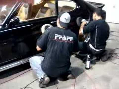Polishing A Capri
