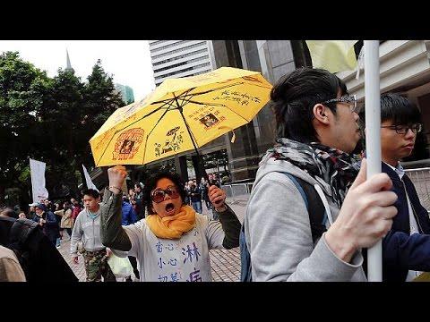 Στο εδώλιο η «Επανάσταση της Ομπρέλας» τρία χρόνια μετά τις μαζικές κινητοποιήσεις