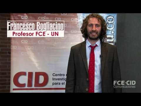 Video columna con Francesco Bogliacino sobre el Seminario CID: Estratificación en Bogotá