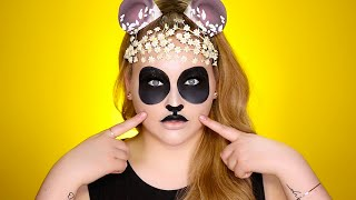 Hipster Panda SNAPCHAT Filter Inspired Tutorial by Nikkie Tutorials