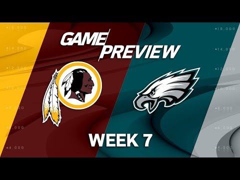 Video: Washington Redskins vs. Philadelphia Eagles | Week 7 Game Preview | Move the Sticks