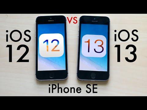 iPhone SE: iOS 13 Vs iOS 12! (Comparison)