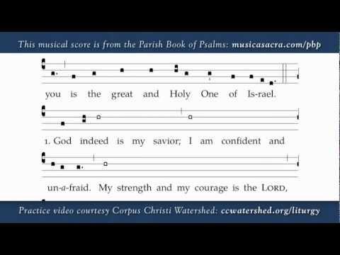 3rd Sunday Of Advent, Year C, Parish Book Of Psalms