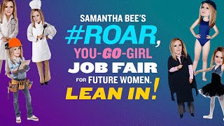 Nonton Job Fair for Future Women | Full Frontal with Samantha Bee | TBS Film Subtitle Indonesia Streaming Movie Download