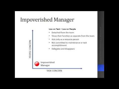 Blake Mouton Leadership Theory