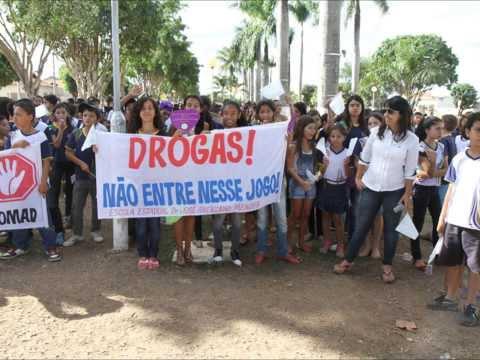 Projeto de prevenção ao uso de drogas em Taiobeiras