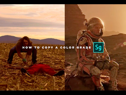 Copy A Color Grade INSTANTLY (Adobe Speedgrade Tutorial)