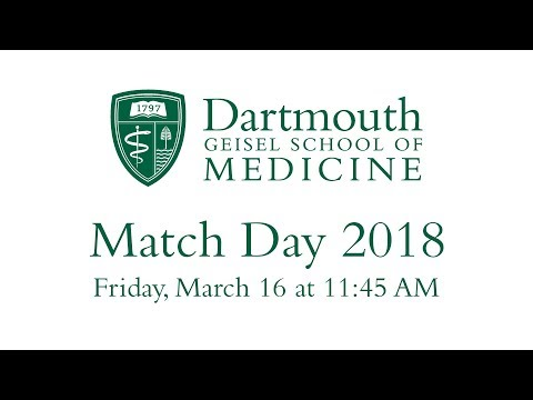 Match Day  2018 - Geisel School of Medicine at Dartmouth (видео)