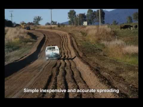 PolyCom Stabilising Aid for stronger cheaper sustainable roads Video Image